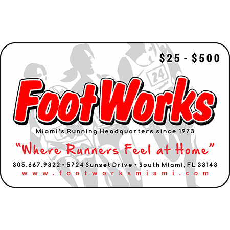 FootWorks Gift Card