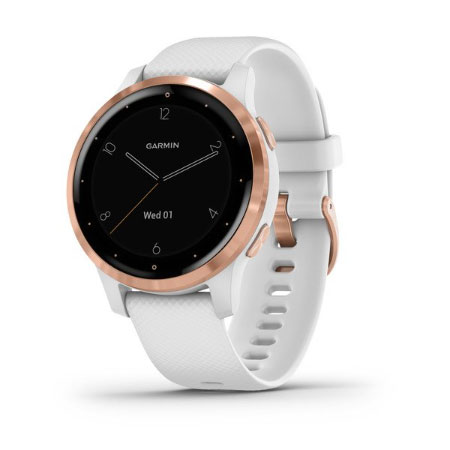 Garmin Vivoactive 4S White / Rose Gold